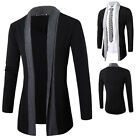 Stylish Men's Knitted Cardigan Jacket Slim Casual Sweater Coat Outwear Outcoat