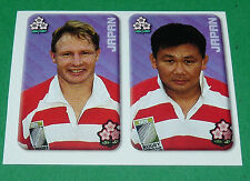 N°194 NIPPON JAPON JAPAN MERLIN IRB RUGBY WORLD CUP 1999 PANINI COUPE MONDE