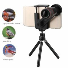 12x Phone Telescope Camera Lens Mount Tripod for Smartphone Universal Photograph