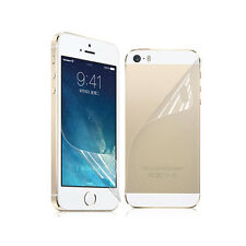 3X Front+Back Screen Protector LCD Ultra Film Matte For Apple iPhone 5G 5S#B SS