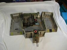 Vintage Hasbro Headquarters Command Center Incomplete GI Joe With Sticker Sheet