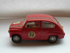 1 VINTAGE Triang Scalextric 1960s AUTO FIAT tc600 #23