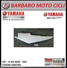 FIANCHETTO LATERALE CODONE SINISTRO BIANCO ORIGINALE YAMAHA YZF R 125 2008 2011