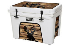 YETI Cooler Wrap Skin Decal 24mil for Tundra 65qt Buck Wood Crosshair