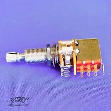 "POTENTIOMETRE ALPHA 500K audio EXTRALONG 3/4"" Split Shaft Pot PUSH-PULL EP-4286"