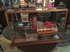 "Miniature Marine Nautical Steam Engine Working Model Display ""Watch Video"""