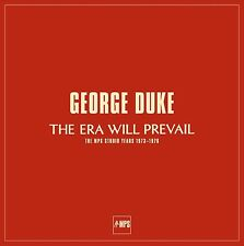 GEORGE DUKE - THE ERA WILL PREVAIL 7 VINYL LP NEU