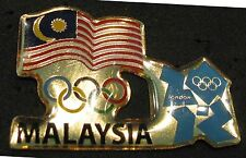 LONDON 2012 Olympic MALAYSIA NOC Internal team - delegation pin