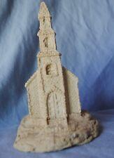 Church House Steeple made of SAND cross windows bell tower glitter steps holy