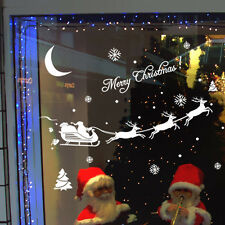 Merry Christmas Decoration Decal Window Stickers Xmas Home Decor