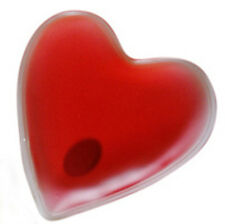 Heart Shaped Hand Warmers X 2-Instant Heat, Reusable 100's of times, Non-toxic
