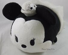 D23 Expo 2015 - Disney Tsum Tsum Steamboat Willie - Medium Minnie Mouse Plush