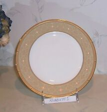 NEW Noritake ROCHELLE GOLD Lunch Salad ACCENT Plate (plates) - BRAND NEW