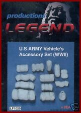 Legend Productions WWII US Army Vehicle Accessory Set 1/35 Model Kit