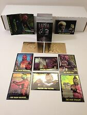 THE OUTER LIMITS (1997) Complete Card Set w/ GOLD, OMNICHROME & CHROMIUM SETS