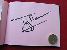 Tiff NEEDELL  Ex F1 Formula One & TV Presenter  Original Hand Signed Page
