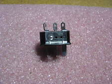 CINCH 10AMP MOUNTING EARS MALE 3 PIN DC CONNECTOR # P303AB NSN: 5935-00-149-3083
