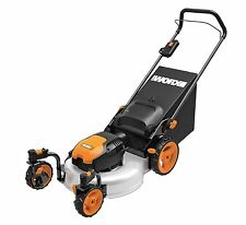 "WG719 19"" 13 Amp Caster Wheeled Electric Lawn Mower by Worx"