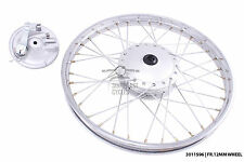 New front wheel and brake plate for honda C90 with 12mm spindle