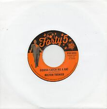 MILTON TRENIER-GONNA CATCH ME A RAT / DEAN JONES-ST. JAMES INFIRMARY UK  FORTY5