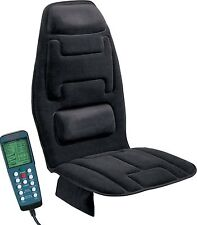 Massage Seat Cushion 10-Motor Comfort Home Car Back Homedics Chair Durable Black