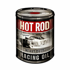 Hot Rod Magazine Racing Oil Dose Oldsmobile Muscle Car Sign Blechschild Schild