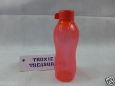 Tupperware Eco Sports Water Bottle 16oz 500ml Small Travel Kids Bottle Red New