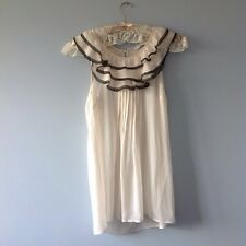 New Look Size 10 cream floaty dress. Ivory, Party, Mini. SALE!