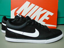 NIKE CAPRI III LEATHER LACE UP WOMEN'S TENNIS SHOES SIZE 11,BLACK 579619 001 NIB