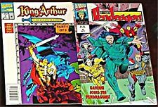 KING ARTHUR KNIGHTS OF JUSTICE 1993 & PENDRAGON 4 1992
