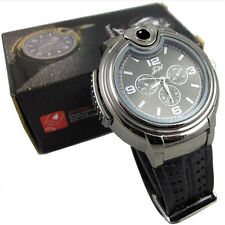 New Military Lighter Watch Men Quartz Refillable Butane Gas Cigar Watches Elegan