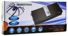 SOUNDSTREAM PN4.1000D 4 CHANNEL CAR MOTORCYCLE AMPLIFIER 2000W MAX PICASSO NANO