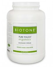 Biotone Pure Touch Organics Massage Therapy Cream - Creme Gallon