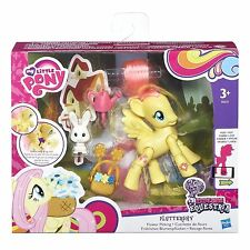 HASBRO - MY LITTLE PONY - EXPLORE EQUESTRIA - FLUTTERSHY - FLOWER PICKING - NEW