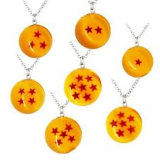 1pc Dragon Ball Z Collection DBZ Crystal Ball Stars Necklace Cosplay RamdonShip