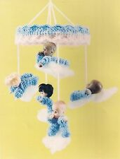 Baby Mobile Pattern - Craft Books: #1208 Crochet Dolls 'N Delights Crocheting