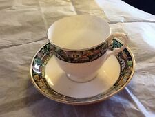 VINTAGE PLANT TUSCAN CHINA CUP & SAUCER