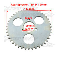 T8F 44 Tooth Rear Chain Sprocket Fit Minimoto Gas Petrol Go Ped Scooters Standup