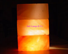 Salt Crystal Brick - Salt Block Pink Himalayan Crystal Salt 5x10x20cm