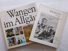 Wangen im Allgäu - 2 Bücher - von Troll, Münch, Leist und Albert Scheurle  /S60