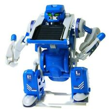 3 in 1 Solar Powered Movable Toy Robot Tank Transform DIY Educational Robot JL