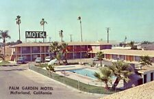 PALM GARDEN MOTEL McFARLAND, CA in Sunny San Joaquin Valley