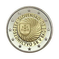 "Slovakia 2 Euro commemorative coin 2016 - ""EU presidency"" - UNC **NEW**"