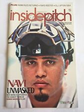 Tampa Bay Rays Inside Pitch - Game Program - Dioneer Navarro - May 2008 Issue