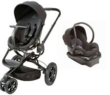 Quinny Moodd Travel System in Black Devotion With Stroller & Mico NXT Car Seat!