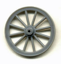 "SMALL WOOD SPOKE WHEELS G 1/2"" SCALE Model Railroad Plastic Detail Part GL3909"