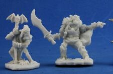 GOBLIN COMMAND (2) - Reaper Miniatures Dark Heaven Bones - 77349
