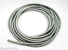 10m Braided Stainless Steel Fuel Hose 8mm Fuel Pipe 7,5x12,5 Fuel Line E85