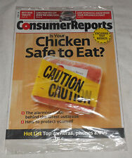 "NIP Consumer Reports February 2014 Magazine ""Is Chicken Safe to Eat?"" Tablets"