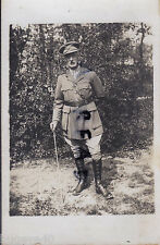 WW1 Officer Lt Colonel ASC Army Service Corps wears trench boots France May 1917